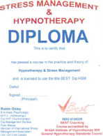Hypnotherapy & Stress Management Diploma